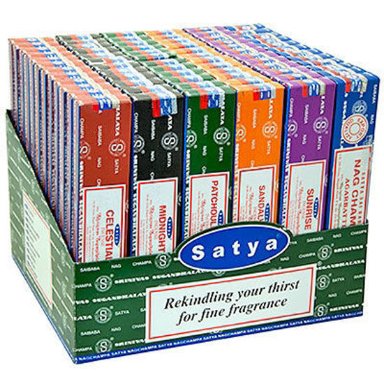 Picture of Nag champa incense (72 ) display