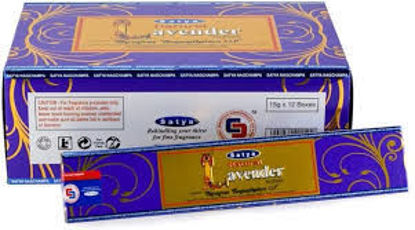 Picture of Satya Incence 15 grams - Lavendar